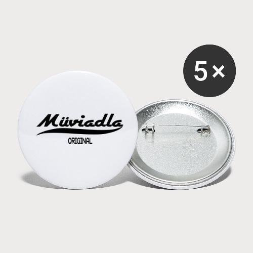 Mühlviertel - Buttons klein 25 mm (5er Pack)