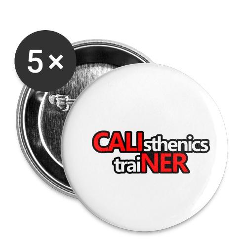Caliner T-shirt - Confezione da 5 spille piccole (25 mm)