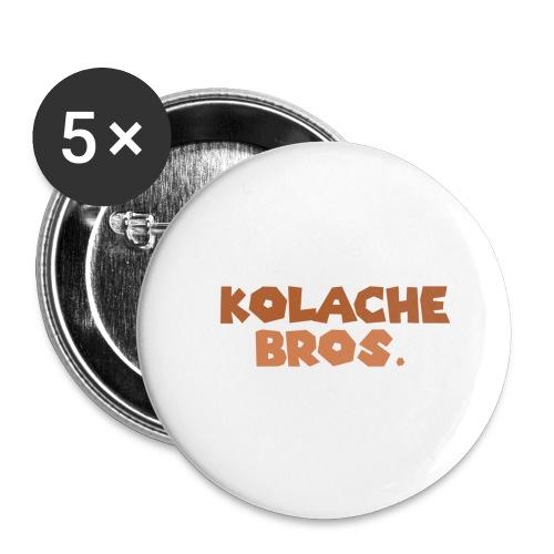 Kolache Bros. Logo Cap - Buttons klein 25 mm (5er Pack)