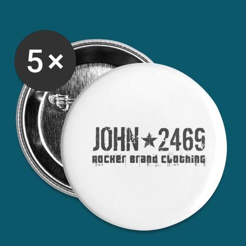 JOHN2469 prova per spread - Confezione da 5 spille piccole (25 mm)