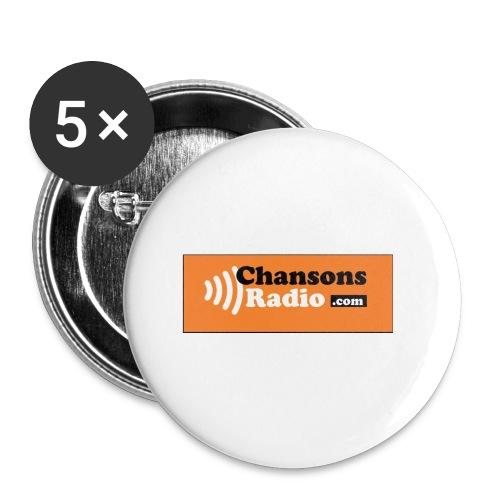 logo cr news JPG - Lot de 5 petits badges (25 mm)