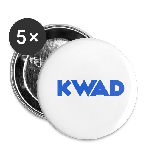 KWAD - Buttons small 1''/25 mm (5-pack)