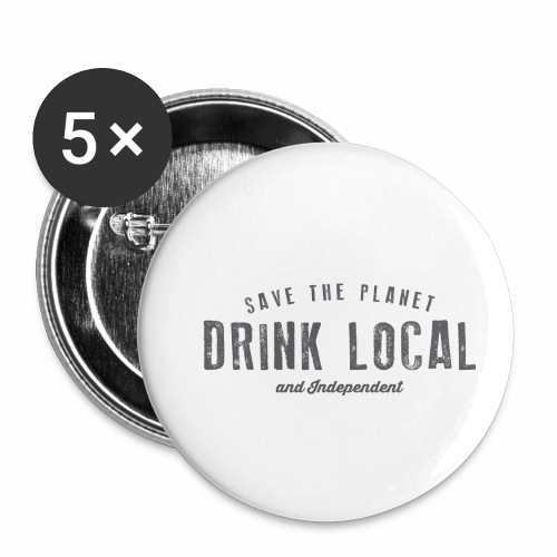 Drink Local - Buttons small 1''/25 mm (5-pack)