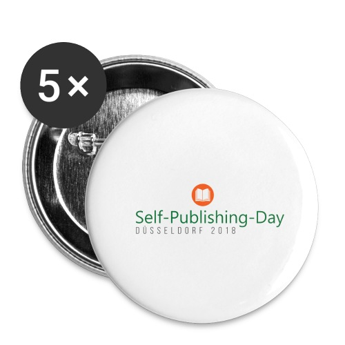 Self-Publishing-Day Düsseldorf 2018 - Buttons klein 25 mm