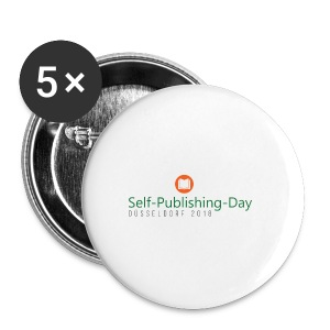 Self-Publishing-Day Düsseldorf 2018 - Buttons klein 25 mm