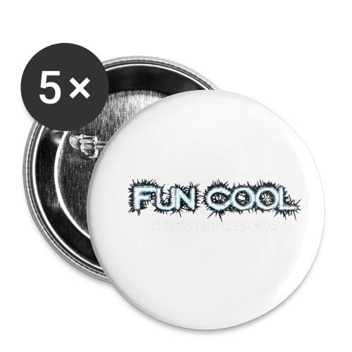 Capisci L'inglese Fun Cool - Confezione da 5 spille piccole (25 mm)