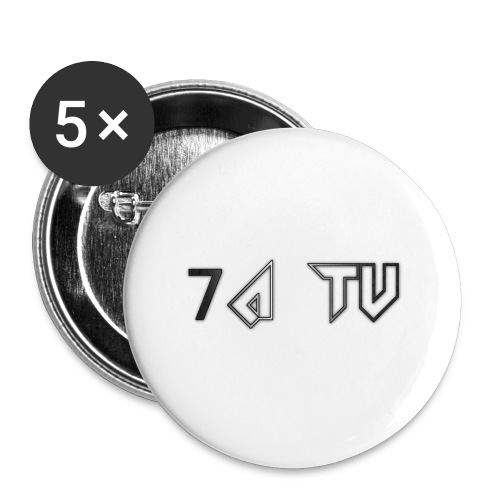 7A TV - Buttons small 1''/25 mm (5-pack)