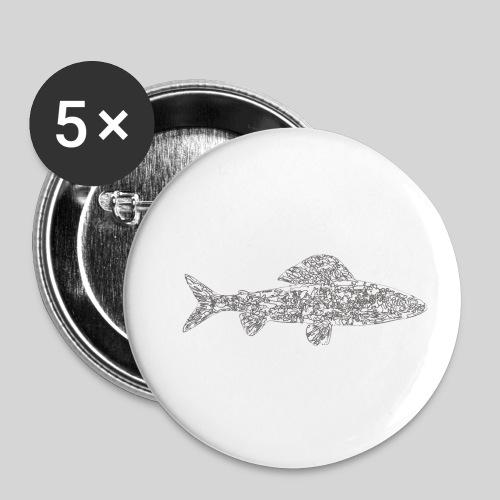 grayling - Rintamerkit pienet 25 mm (5kpl pakkauksessa)