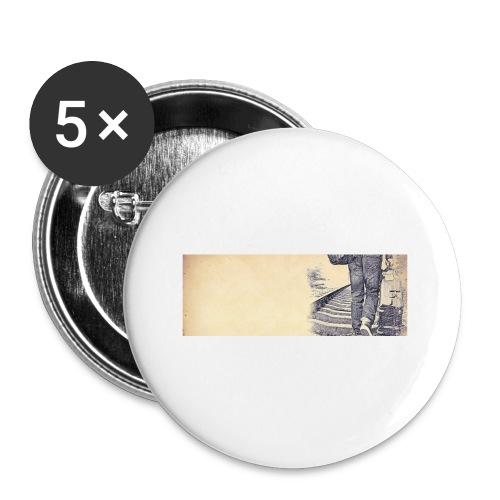solo.pigion - Lot de 5 petits badges (25 mm)