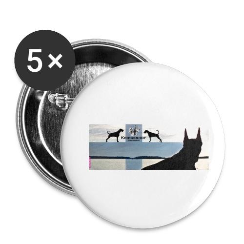 FBtausta - Rintamerkit pienet 25 mm (5kpl pakkauksessa)