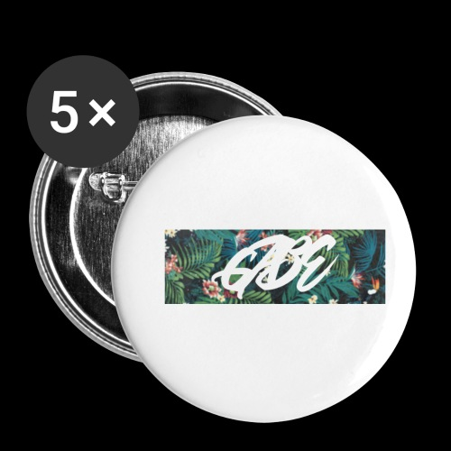 GABE FLOW - Buttons klein 25 mm (5er Pack)