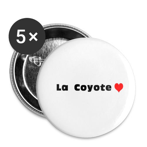 La Coyote - Badge petit 25 mm