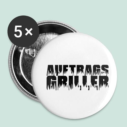 Auftragsgriller - Buttons klein 25 mm (5er Pack)