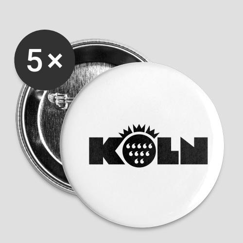 Köln Wappen modern - Buttons klein 25 mm (5er Pack)