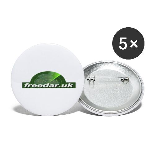 Freedar - Buttons small 1''/25 mm (5-pack)