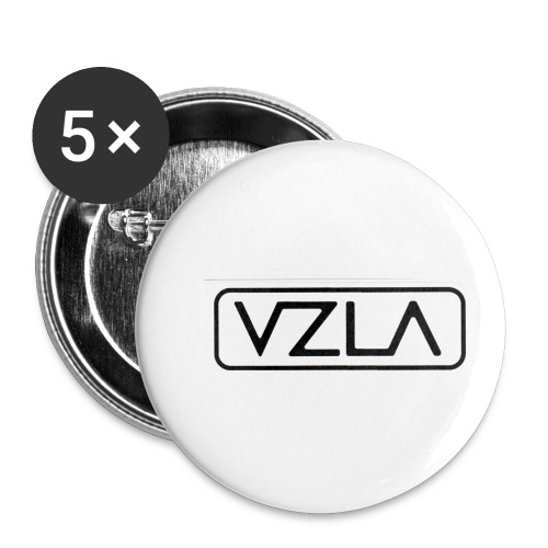 Vzla for ever - Paquete de 5 chapas pequeñas (25 mm)