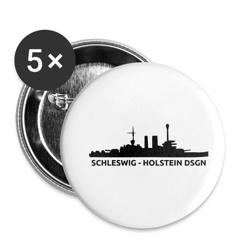 Schleswig-Holstein DSGN - Przypinka mała 25 mm (pakiet 5 szt.)