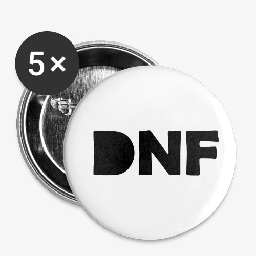 dnf - Buttons klein 25 mm (5er Pack)