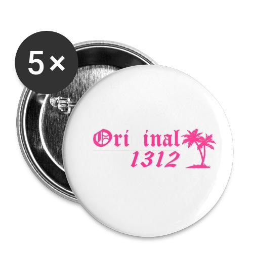 Original 1312 - Buttons klein 25 mm (5er Pack)