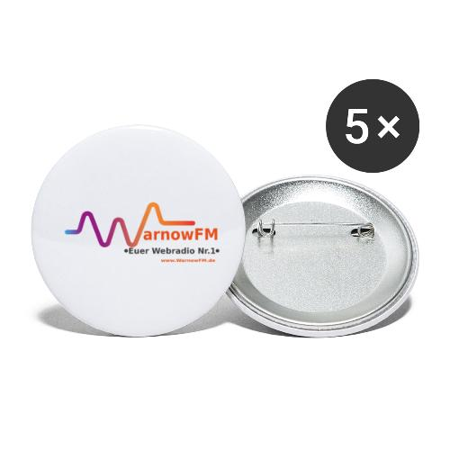 Sound Wave - Buttons klein 25 mm (5er Pack)