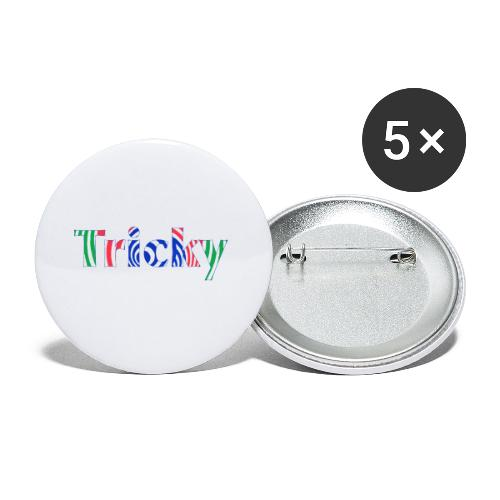 Tricky - Buttons small 1''/25 mm (5-pack)