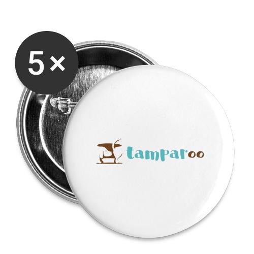 Tamparoo - Confezione da 5 spille piccole (25 mm)