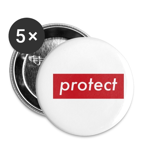 protect - Buttons klein 25 mm (5er Pack)
