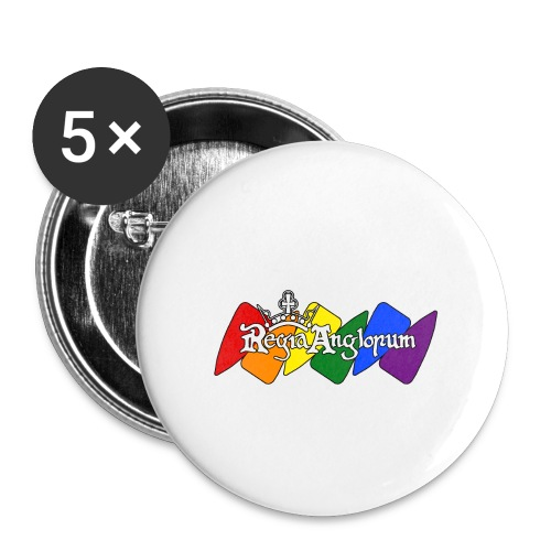 Pride Kite - Buttons small 1''/25 mm (5-pack)