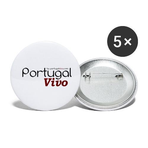 Portugal Vivo - Lot de 5 petits badges (25 mm)