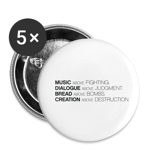 slogan png - Buttons klein 25 mm (5-pack)