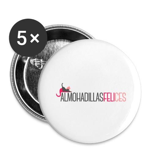 Almohadillas Felices Básico - Paquete de 5 chapas pequeñas (25 mm)