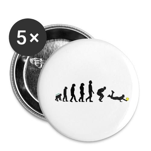 Evolution Defense - Confezione da 5 spille piccole (25 mm)