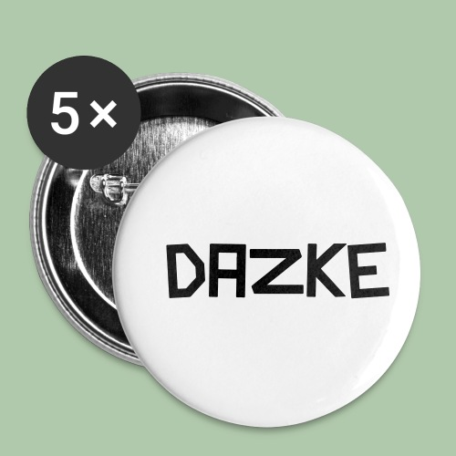 dazke_bunt - Buttons klein 25 mm (5er Pack)