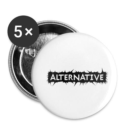 Spike T-shirt White - Przypinka mała 25 mm (pakiet 5 szt.)