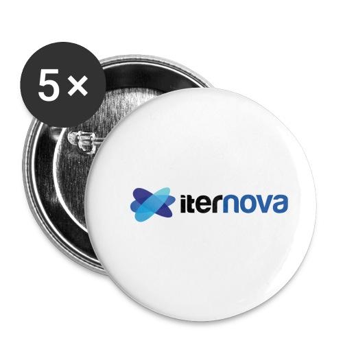 ITERNOVA - Paquete de 5 chapas pequeñas (25 mm)