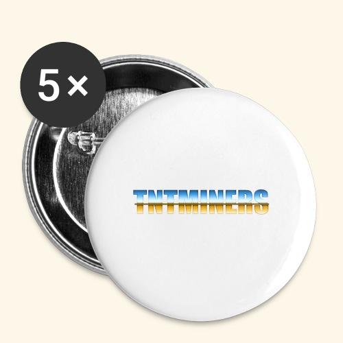 TntMiners annan färg 2 - Små knappar 25 mm (5-pack)