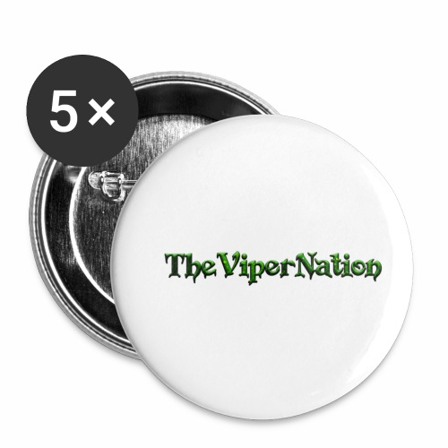 Viper Nation - Buttons small 1''/25 mm (5-pack)