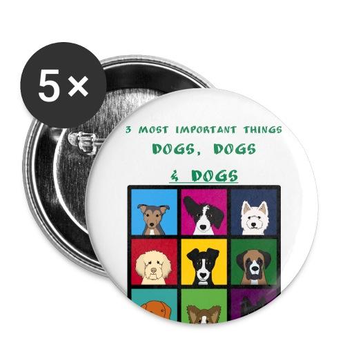 3 most important things - - Rintamerkit pienet 25 mm (5kpl pakkauksessa)