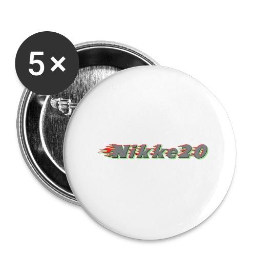 Nikke20 - Rintamerkit pienet 25 mm (5kpl pakkauksessa)