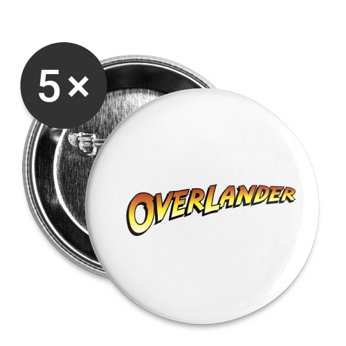 Overlander - Autonaut.com - Buttons small 1''/25 mm (5-pack)