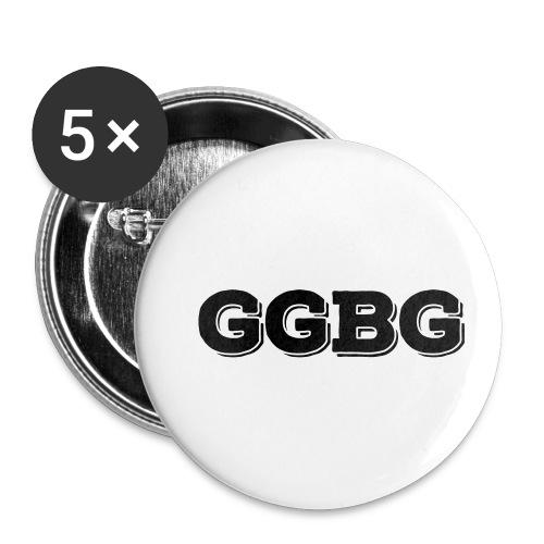 GGBG Accessori - Confezione da 5 spille piccole (25 mm)