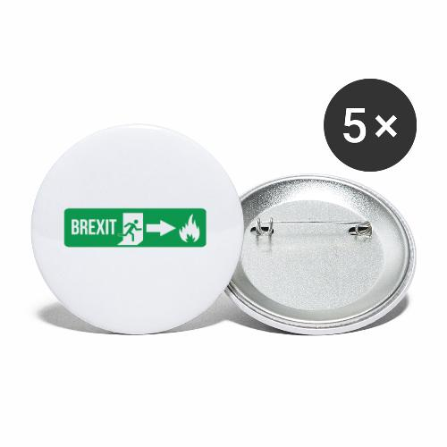 Fire Brexit - Buttons small 1''/25 mm (5-pack)
