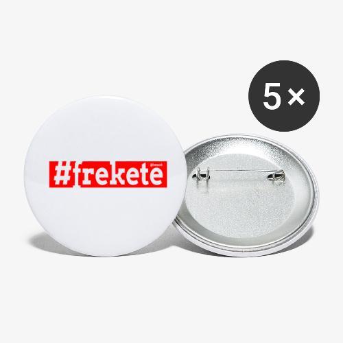 Frekete - Confezione da 5 spille piccole (25 mm)