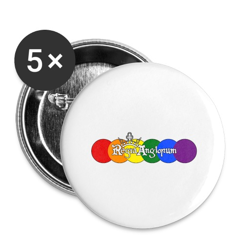 Pride Rounds - Buttons small 1''/25 mm (5-pack)