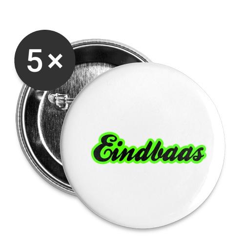 eindbaas upload - Buttons klein 25 mm (5-pack)