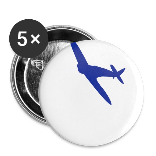 ukflagsmlWhite - Buttons small 1''/25 mm (5-pack)