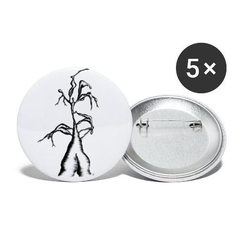 Die Zerrissenheit - Buttons klein 25 mm (5er Pack)