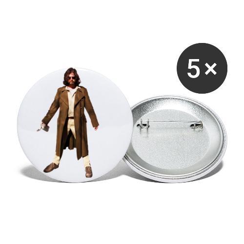 René van Densen - Buttons klein 25 mm (5-pack)