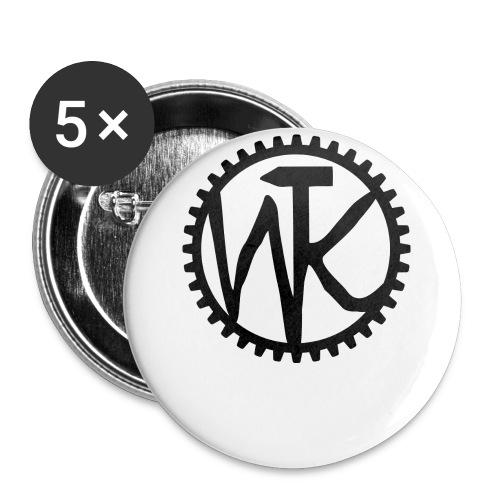 logo final png - Buttons klein 25 mm (5er Pack)