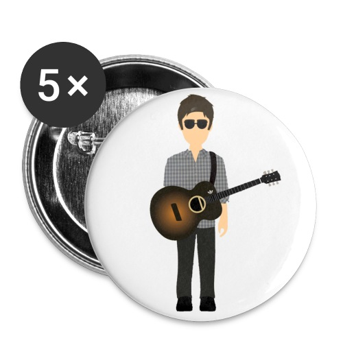 Noel Gallagher Epiphone Edition - Buttons small 1''/25 mm (5-pack)